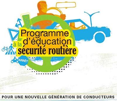 Programme d education securite routiere